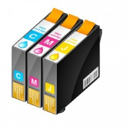 PACK 3 CARTOUCHES D'ENCRE Type HP 935xl CYM