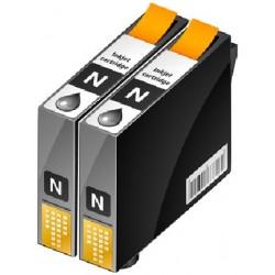 PACK 2 CARTOUCHES D'ENCRE NOIRE Type EPSON T0551