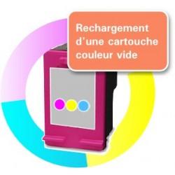 RECHARGEMENT CARTOUCHE D'ENCRE tricolor Type HP 301xl