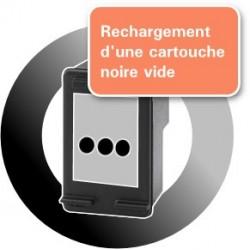 RECHARGEMENT d'un ECOPACK 2 CARTOUCHES D'ENCRE Type HP 901xl noire et couleurs