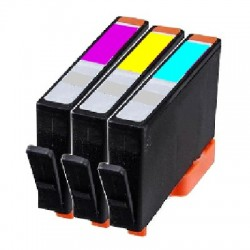 PACK 3 CARTOUCHES D'ENCRE Type HP 920xl C/Y/M
