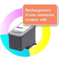 RECHARGEMENT CARTOUCHE D'ENCRE Type CANON CL-41 tricolor